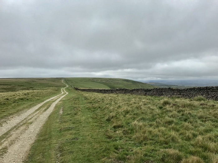 Typical views of the top of Black Hambleton and Arden Great Moor
