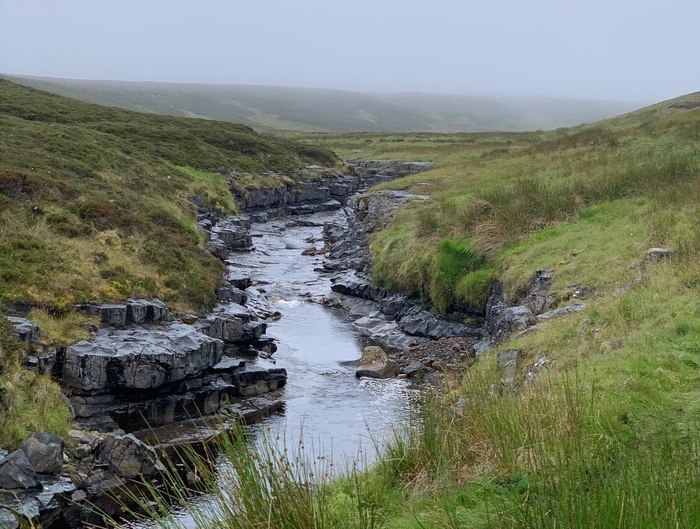 Typical views of the area around Trout Beck